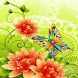 Butterfly Spring Live Wallpape