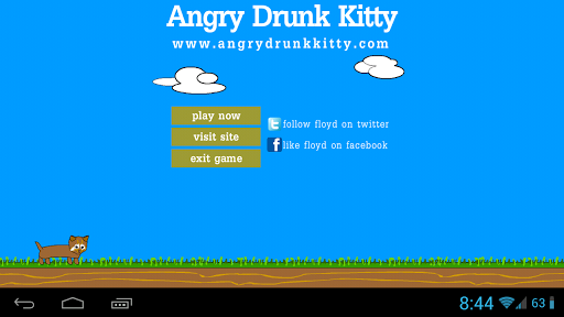 Angry Drunk Kitty