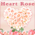 Heart Rose Live Wallpaper