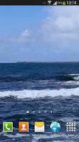 Screenshot of Blue Ocean Waves Live HD