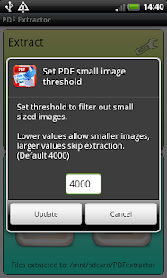PDF Image & Text Extractor - screenshot thumbnail