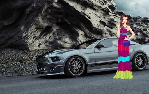 Car Girl Dress Up
