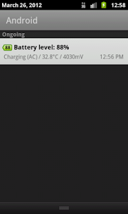 Battery Widget- screenshot thumbnail