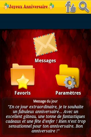 Bon Anniversaire SMS