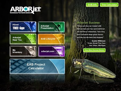 Arborjet- screenshot thumbnail