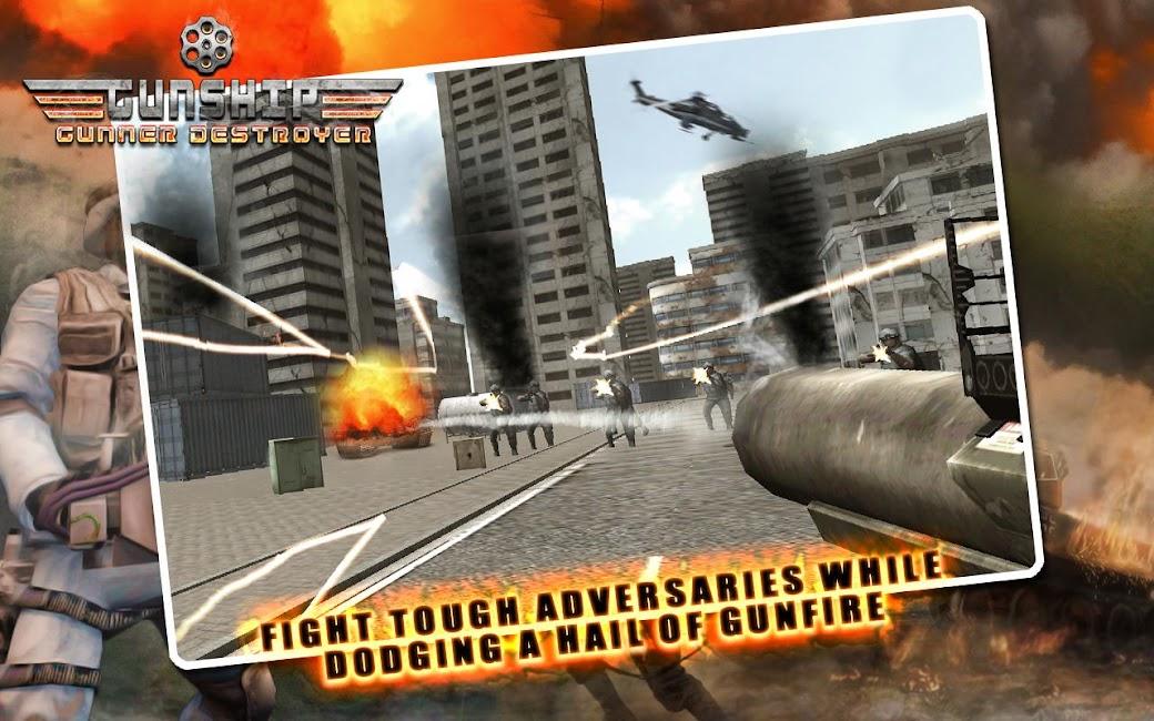 #9. Gunship Gunner Destroyer (Android)
