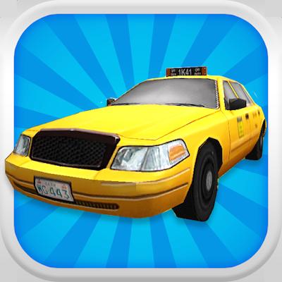 Такси Водитель 3D