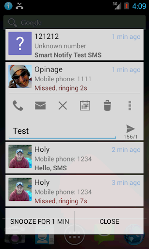 Smart Notify - SMS Missed Call