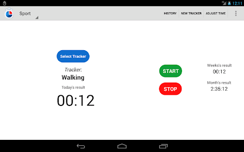 Simple Time Tracker FREE screenshot 9