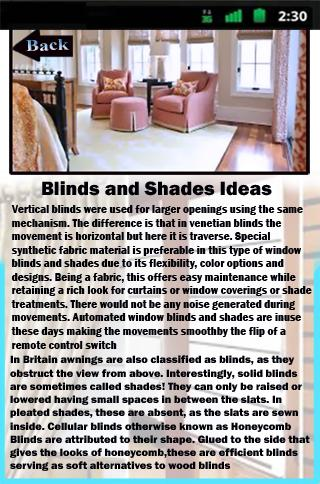 Blinds and Shades Ideas