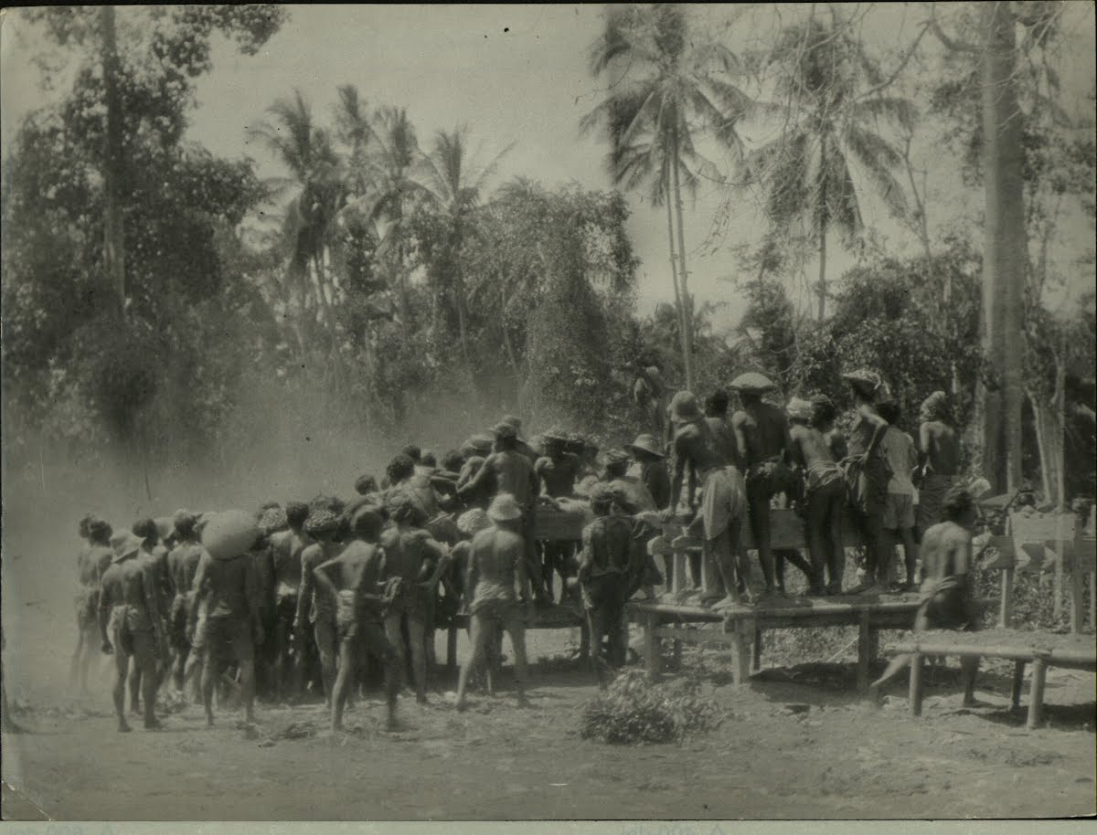 Dutch East Indies Bali Funerals And Cremations