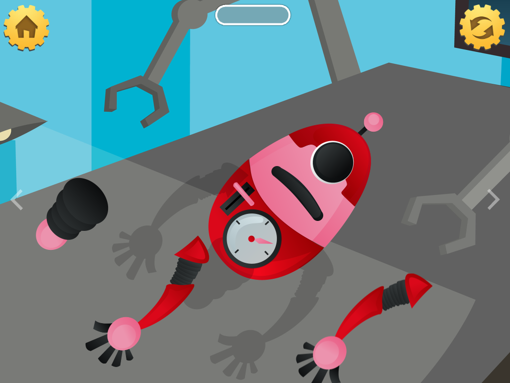 Secret Robot Lab - Kids Game- screenshot