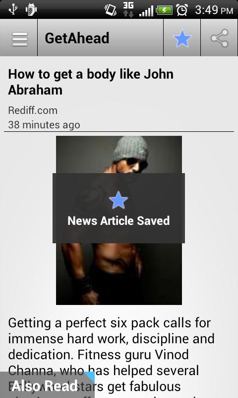 Rediff News - screenshot