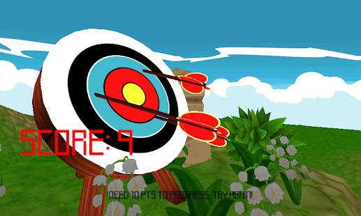 射箭遊戲職業弓和箭