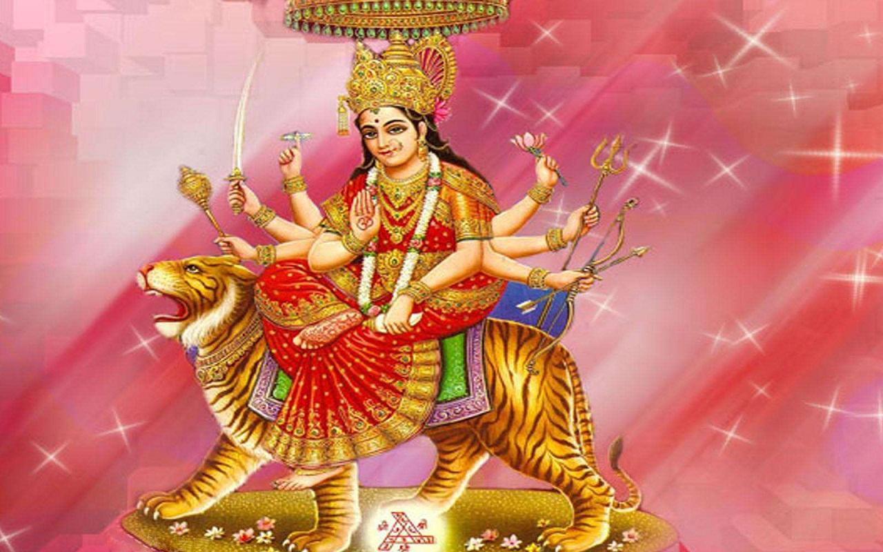 Wallpaper download mata rani - Durga Chalisa Aarti Wallpapers Screenshot
