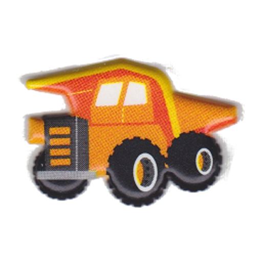 Kids Working Car Puzzle