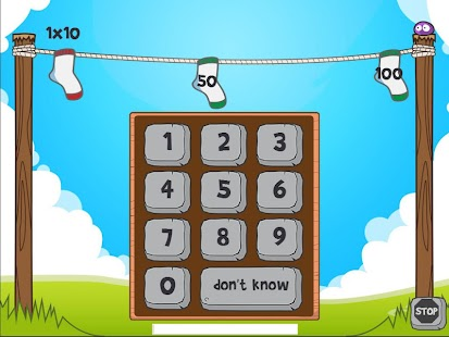Math Blobs Times tables- screenshot thumbnail