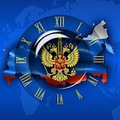 """Russia Digital Clock"""