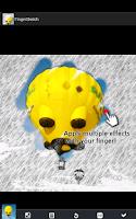 Screenshot of Finger Sketch