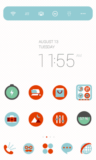 Simple Sherbet Dodol Theme
