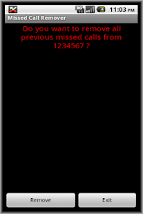 Missed Call Remover- screenshot thumbnail