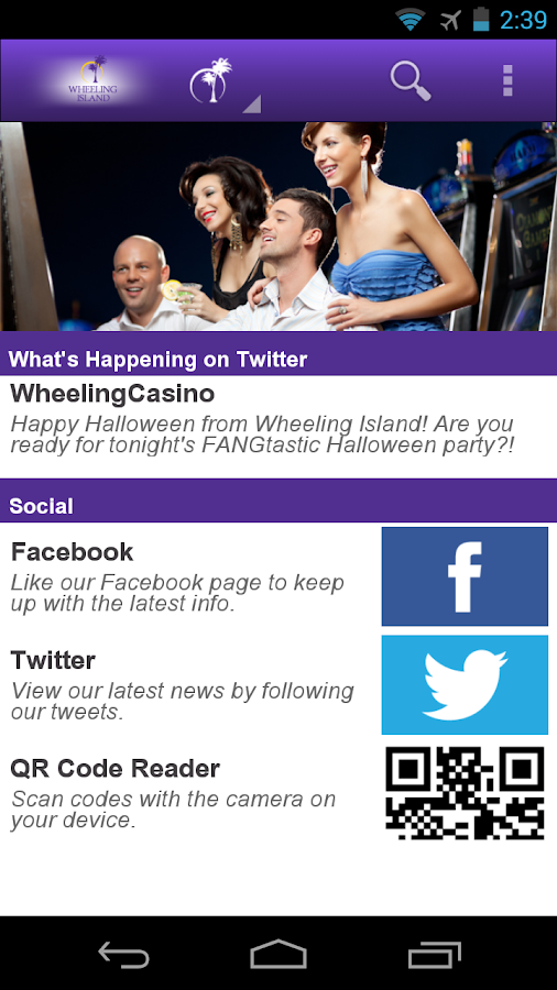 Wheeling Island Casino- screenshot