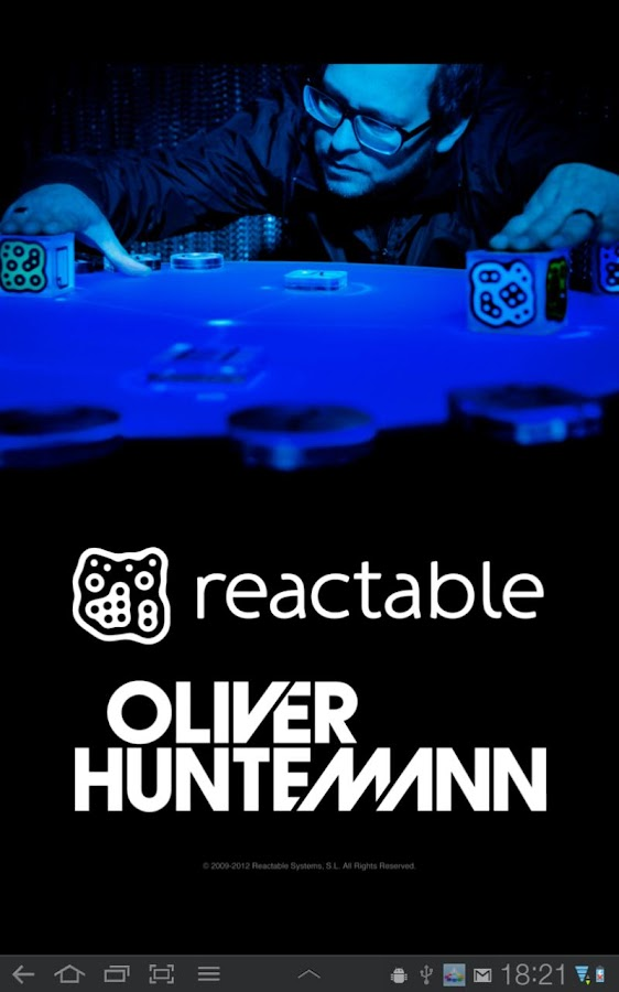 Reactable Huntemann - screenshot