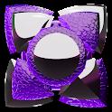 NEXT tema de lagarto roxo HD icon