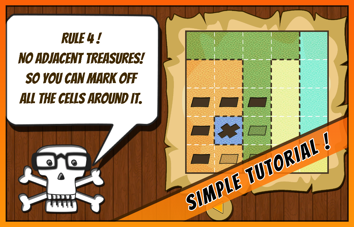 Treasure Maps- screenshot