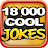 18,000 COOL JOKES logo