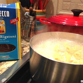 Leftover Pasta Bake… featuring DeCecco