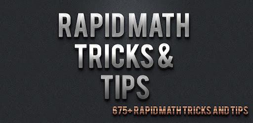 Rapid Math Tricks And Tips Pdf