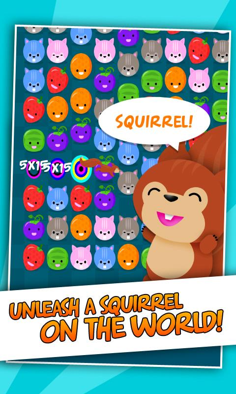 Squirrel! FREE- screenshot