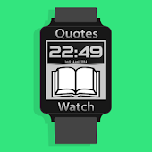 Quote watch - for android wear
