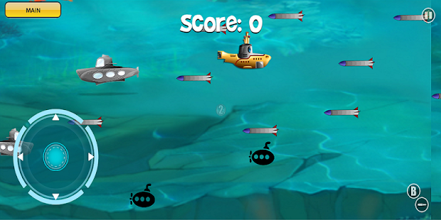 Submarine Battle Race