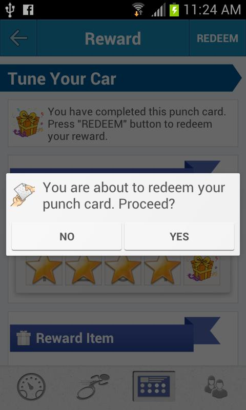 Speadi- Mobile Punch Card Plus - screenshot