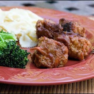 Cheesy Turkey Meatballs