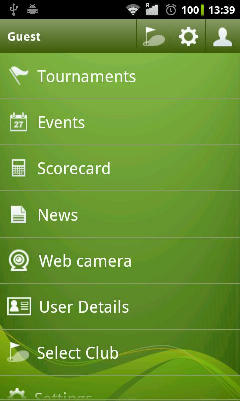 Albatros Mobile Services – Screenshot