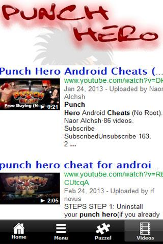 Punch Hero - Tip & Cheats 2013 - screenshot