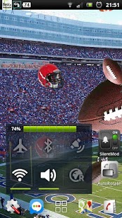 football ball rugby LWP - screenshot thumbnail