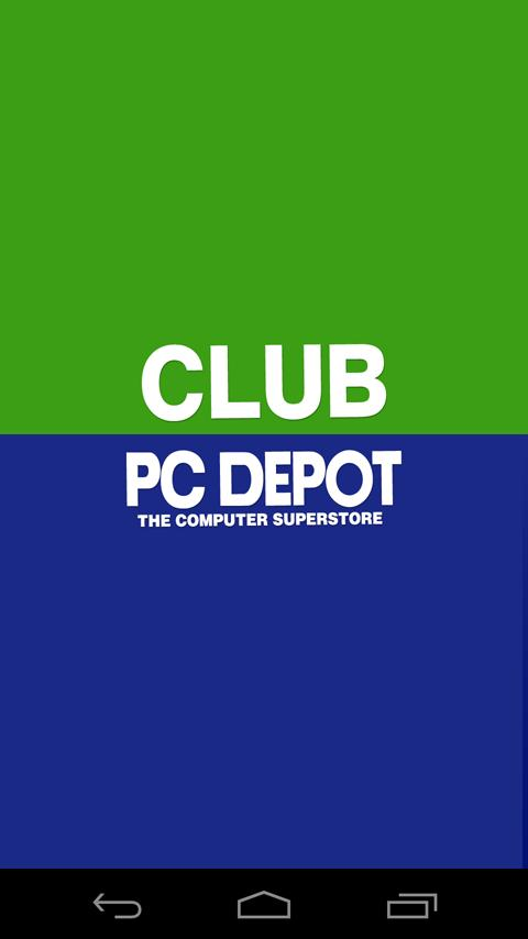 PCDEPOT CLUB(PCデポクラブ)アプリ- screenshot