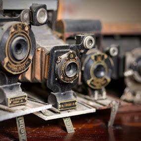 Kodak Ball Bearing by Alan Roseman - Artistic Objects Antiques ( old camera, bellows, lenses, days gone by, camera, kodak, vest pocket, antique,  )