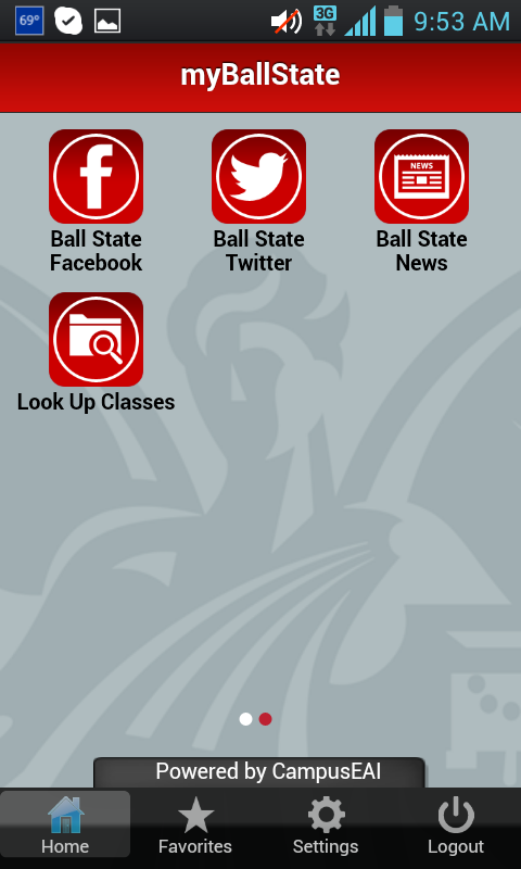myBallState - screenshot