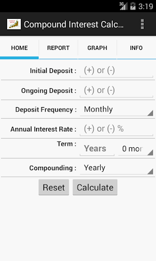 Compound Interest Calc Pro