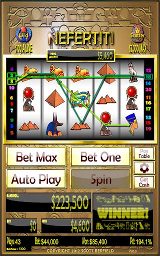 【免費博奕App】Nefertiti Slots-APP點子
