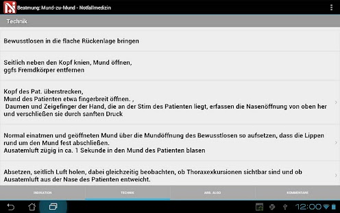 Notfallmedizin - screenshot thumbnail
