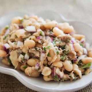 White Bean and Tuna Salad.