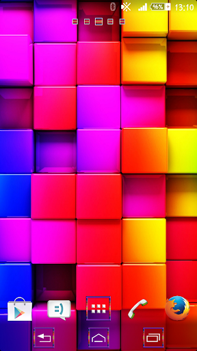 Colored Tiles - Theme By Arjun