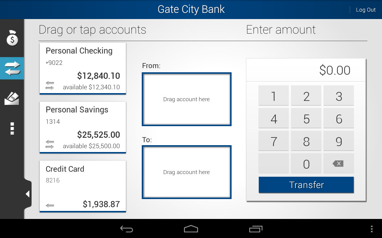 Gate City Bank - screenshot