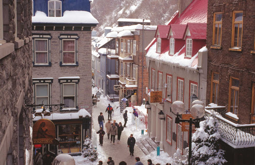 winter-holidays-Quebec - The winter holidays in Quebec, Canada.